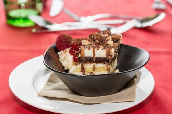 tiramisu as a fine dessert