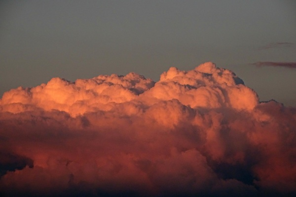 dense cloud puddle heavy clouds red