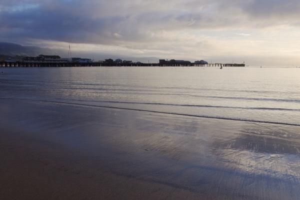 pier in an ocean or lake