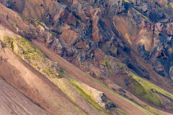 moss covered mountains landmannalaugar southern highlands