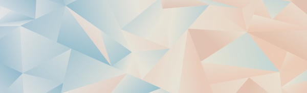abstract blue gradient triangles of different