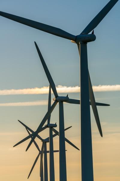 wind turbine energy generators on wind