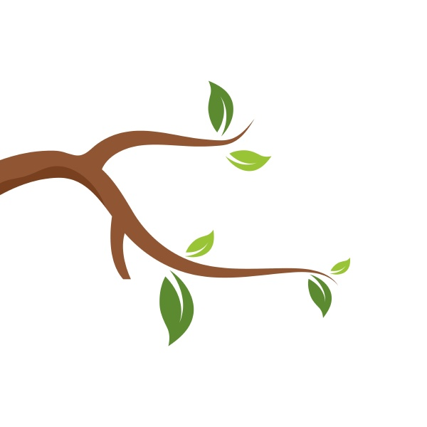 branch icon vector illustration