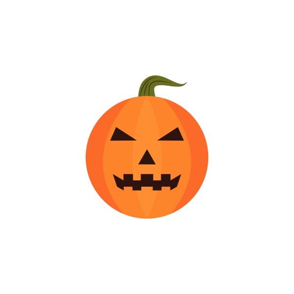 halloween pumpkin icon vector illustration design