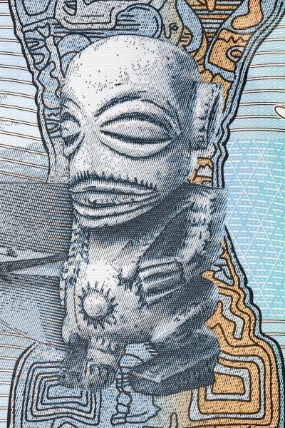 statue of the god te rengo