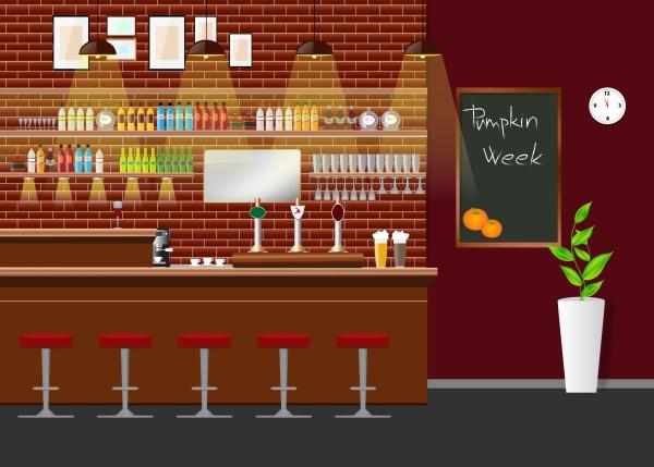 pumpkin week in restaurant concept