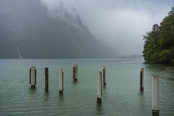 germany bavaria mooring posts