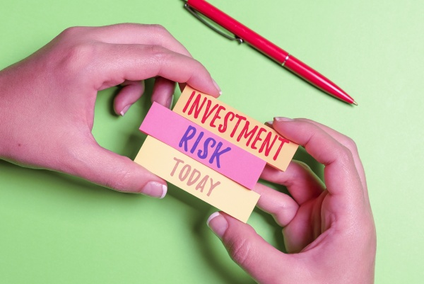 inspiration showing sign investment risk internet
