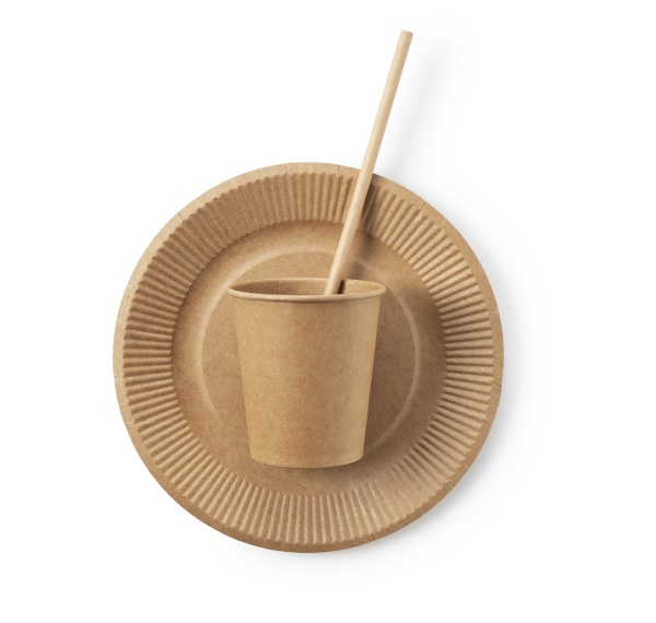 disposable paper cups straws and paper