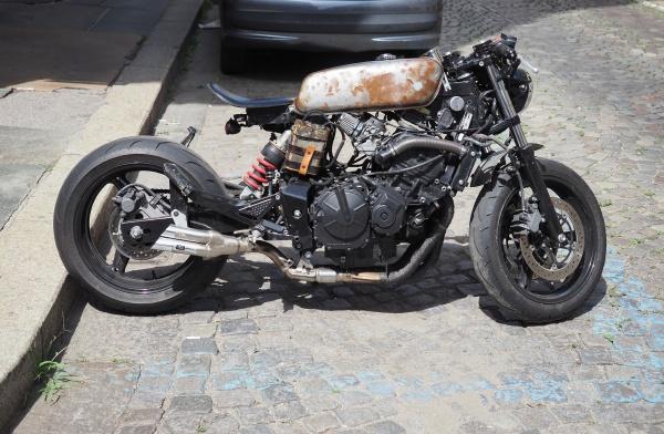 honda cruiser bike in turin