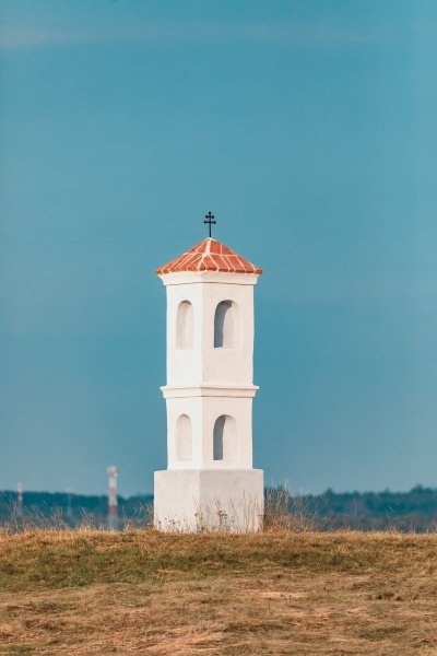 small chapel on the hill in