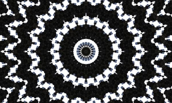 dark horizontally seamless design ornate