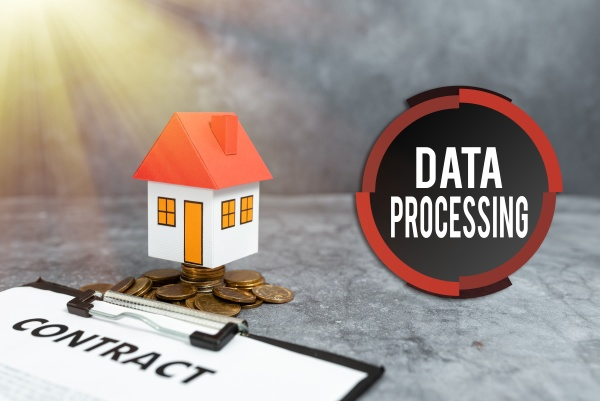 inspiration showing sign data processing business