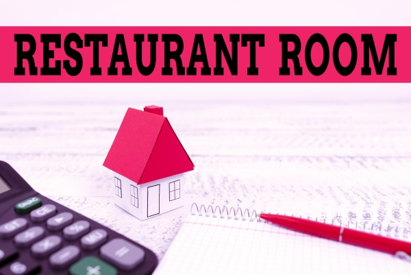 conceptual display restaurant room business overview