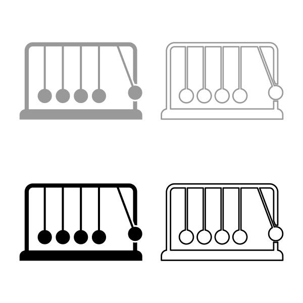 cradle newton metal metronome newton s