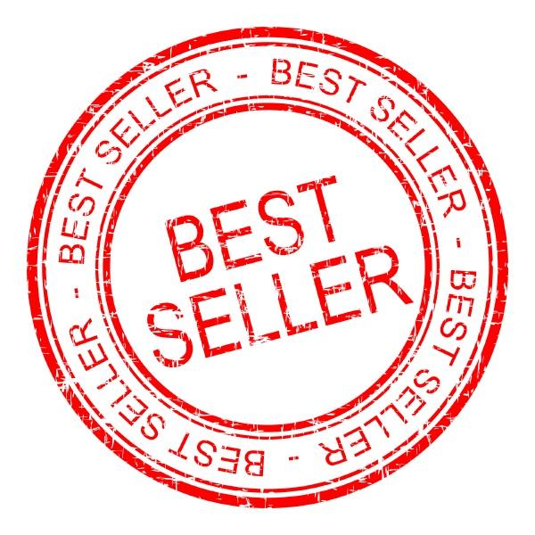 bestseller rubber stamp red illustration