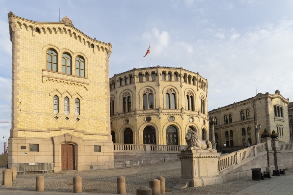 parliament palace in oslo norway