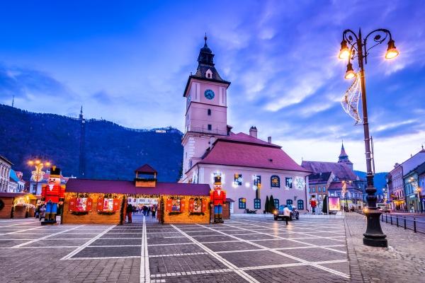 brasov romania christmas market in transylvania