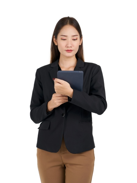 young asian businesswoman in a