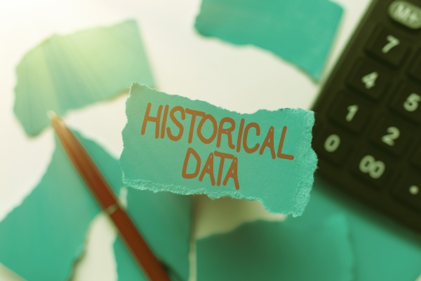 conceptual display historical data business approach