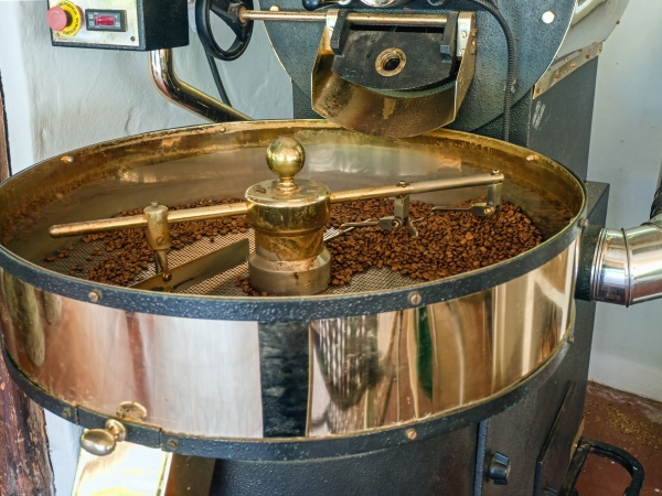 traditional smaller coffee roaster in