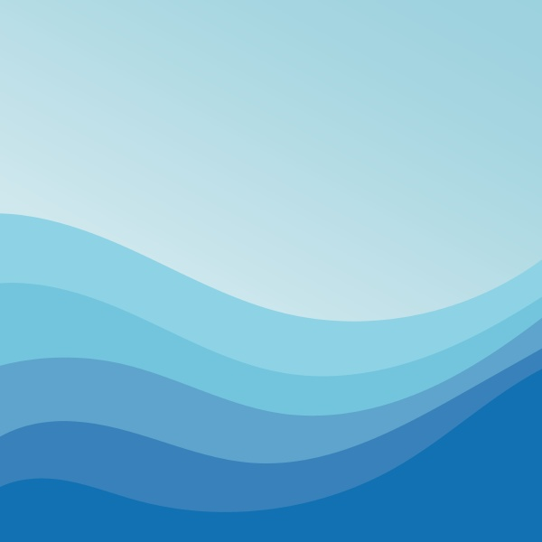 abstract water wave vector illustration design