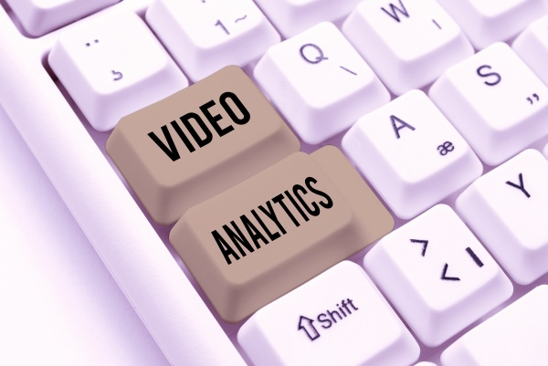 inspiration showing sign video analytics business