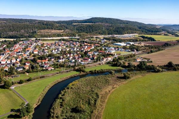 the village of herleshausen in the