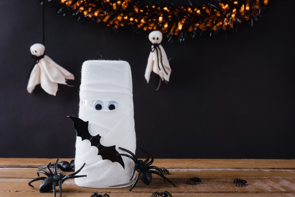 funny, halloween, day, decor, party, concept - 30761279