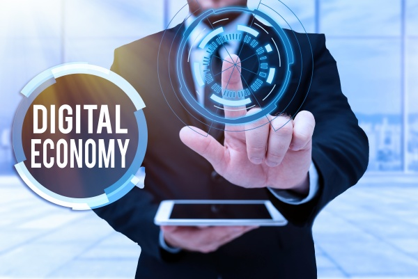 inspiration showing sign digital economy
