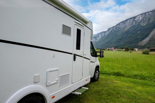 caravan car vacation family vacation travel