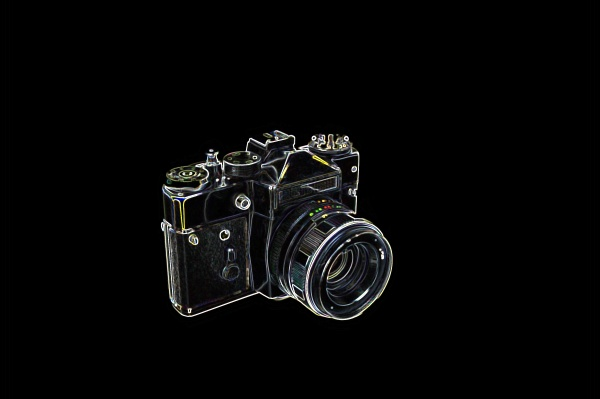 illustration, of, an, old, photo, camera - 30769523
