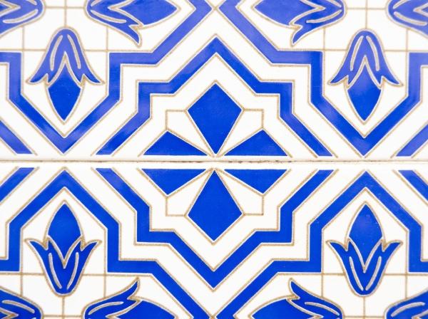 portuguese blue tiles