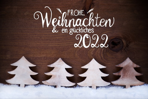 white christmas tree snow glueckliches 2022