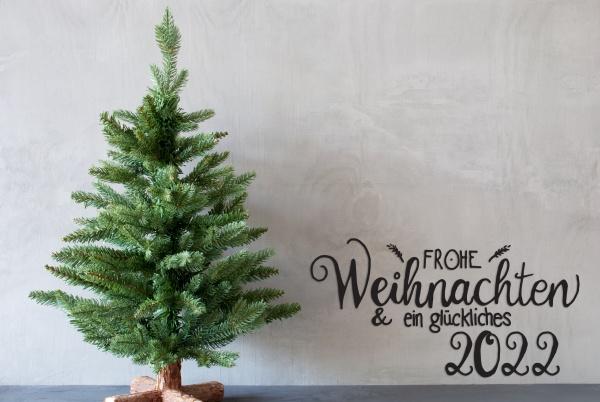 christmas tree glueckliches 2022 mean happy