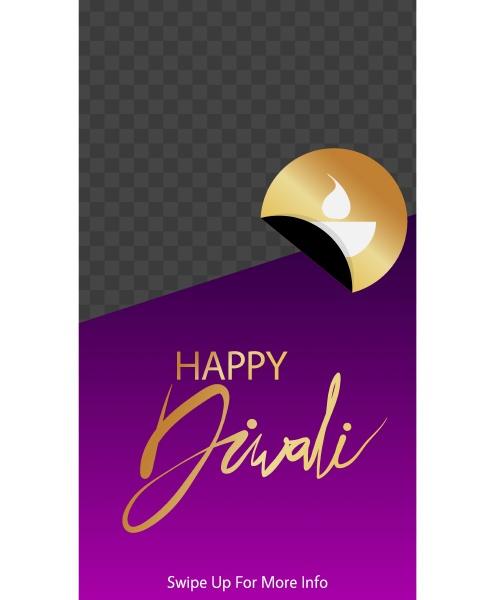 modern diwali design for poster