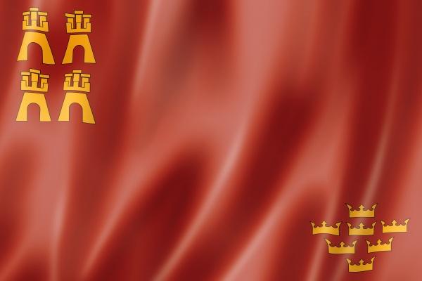 murcia province flag spain