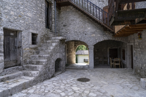 ancient rural house