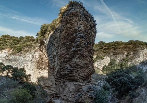 fan canyon rock climbing route