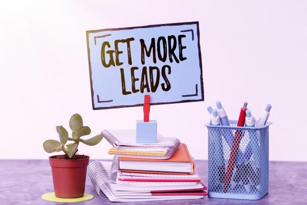 conceptual caption get more leads business