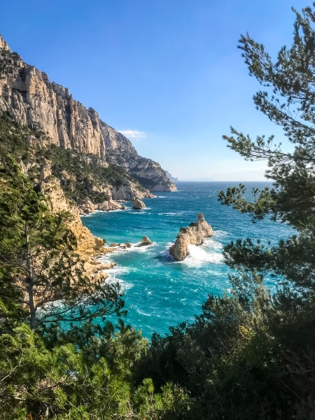 calanques creeks of marseille