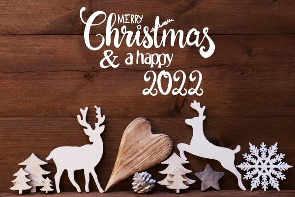 reindee heart tree fir cone merry