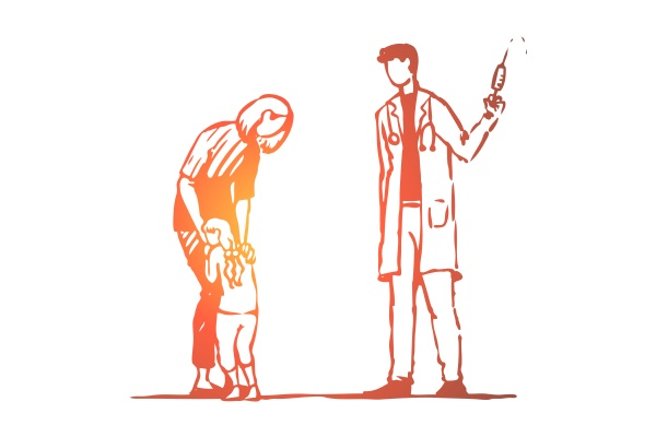 child doctor injection