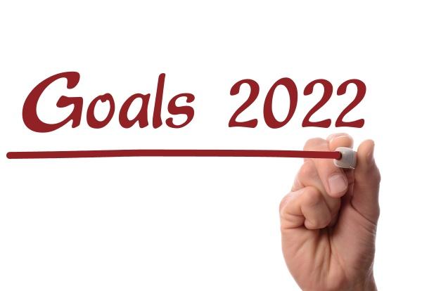 red pen writing goals 2022