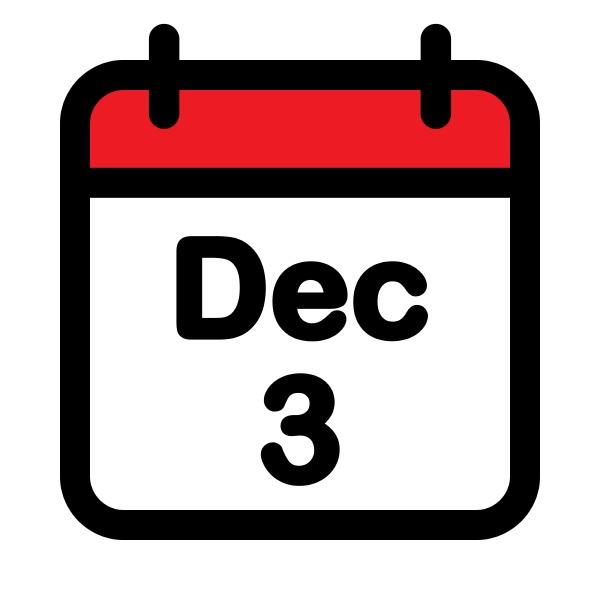 web calender december