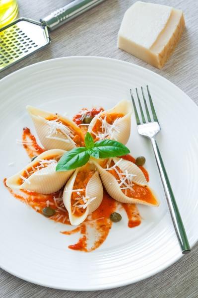 pasta with salmon