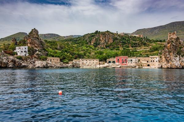 village of scopello in sicily