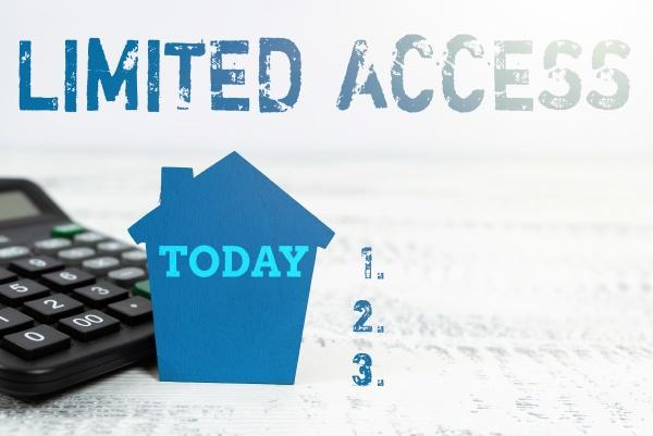 conceptual caption limited access business overview