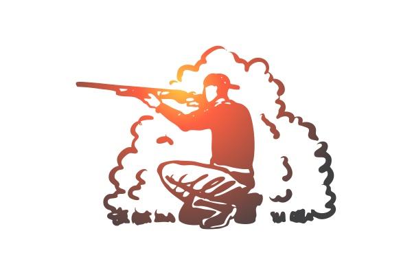 hunting rifle hobby