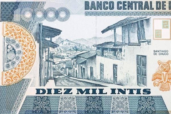 santiago de chuco street scene from